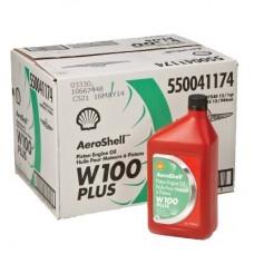 AEROSHELL W100PLUS OIL 12 QTS
