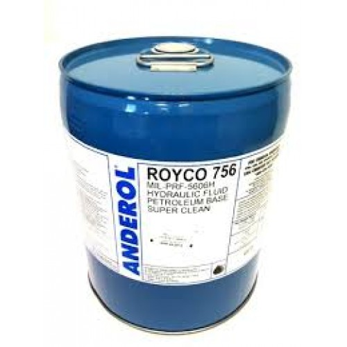 756 ROYCO HYDRAULIC FLUID 5 GALLON